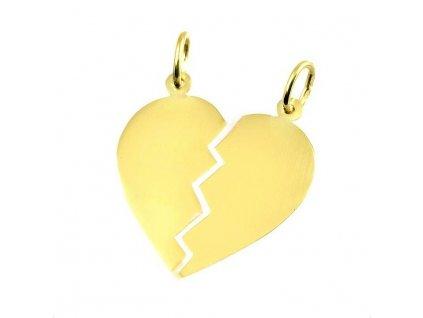 Zlaté srdce rozlamovací