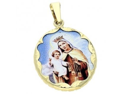 Zlatá madonka s Ježíškem