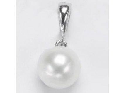 Perlový přívěsek s přírodní perlou 8-8,5 mm