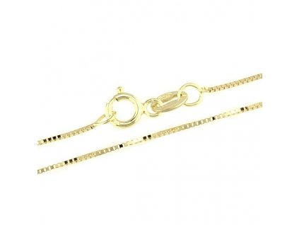 1377-5 Zlatý řetízek 50cm žluté zlato