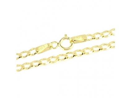 1193-5 Zlatý řetízek 50cm žluté zlato