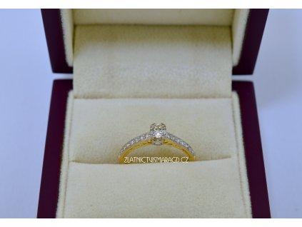 Drahý briliantový prsten