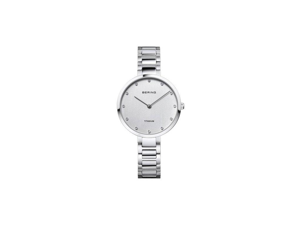 Bering Dámské hodinky Bering Titanium 11334-770