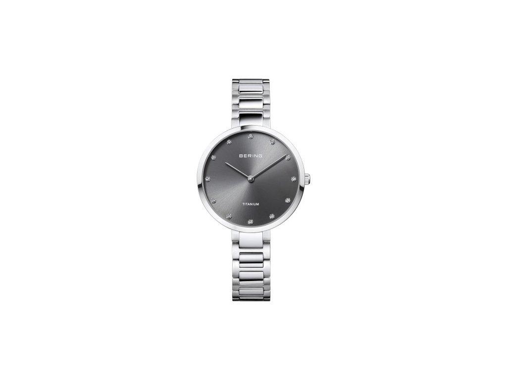 Bering Dámské hodinky Bering Titanium 11334-772