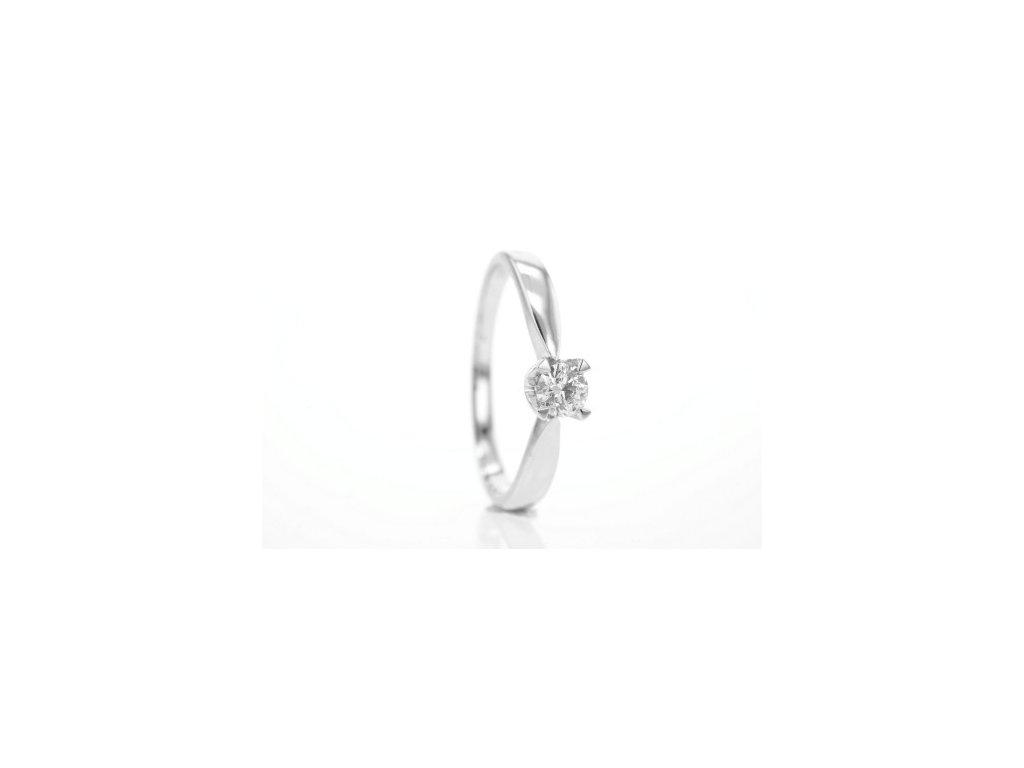 Prsten z bílého zlata s brilianty AUBR60 zlatnictvivymolovi.cz