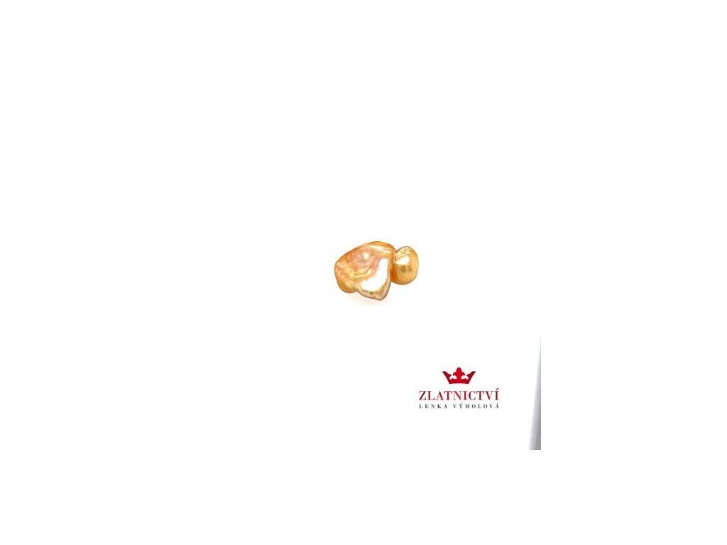 zlatnictvivymolovi.cz Mořská ZLATÁ perla z Filipín FILP1 zlatnictvívýmolovi
