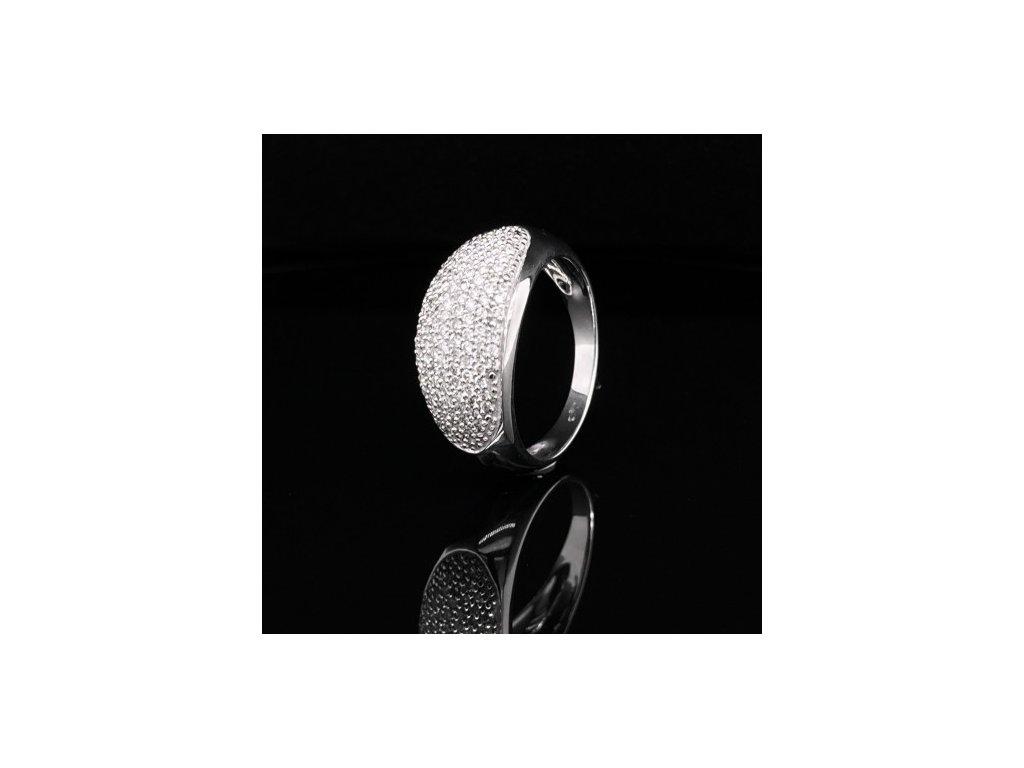 Prsten z bílého zlata s brilianty AUBR23 zlatnictvivymolovi.cz