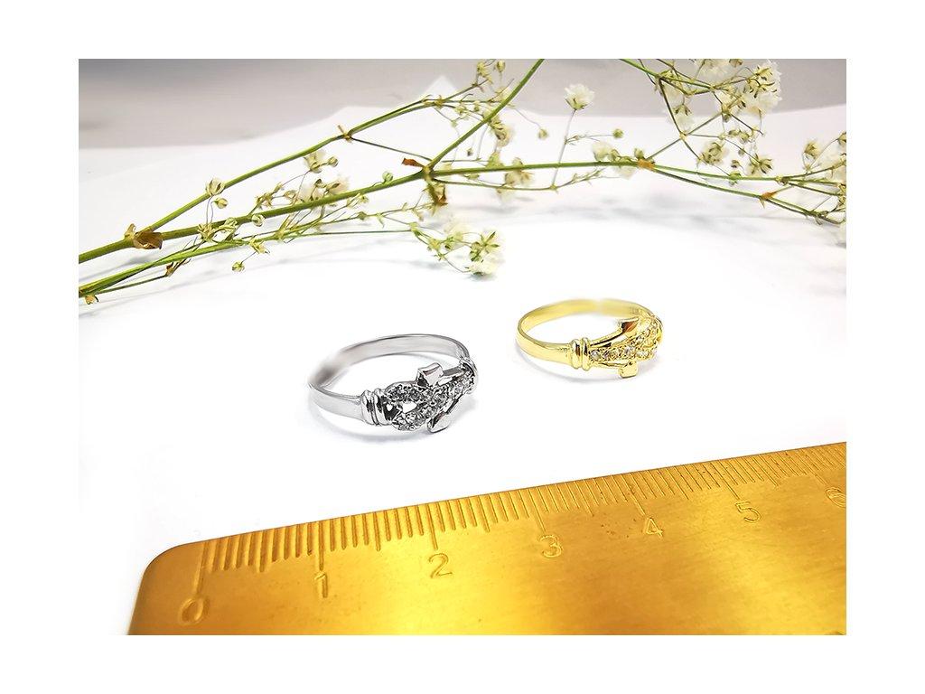 Prsteň VZOR23 zo žltého zlata