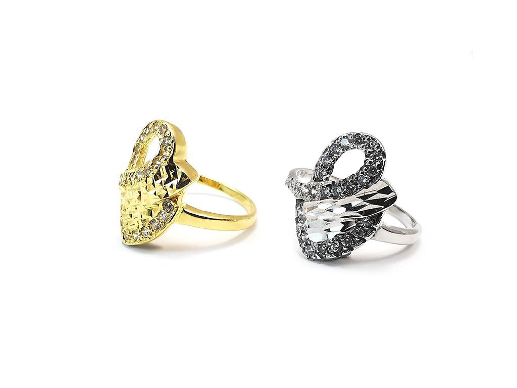Dámsky prsteň VZOR 268 zo žltého zlata