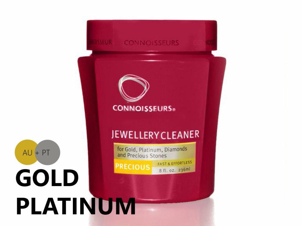 Čistiaci prostriedok Connoisseurs na zlato