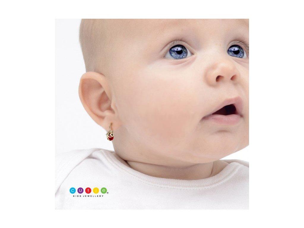 Detské náušnice Cutie 2008 ukážka