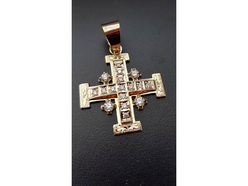 krížik briliantový10
