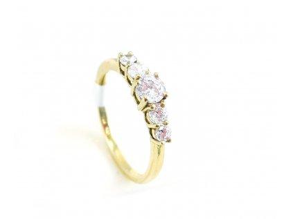 Zlatý prsteň VZOR 274/5 žltý