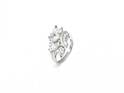 Prekrásny strieborný prsteň  + servis # GIFTS # krabička
