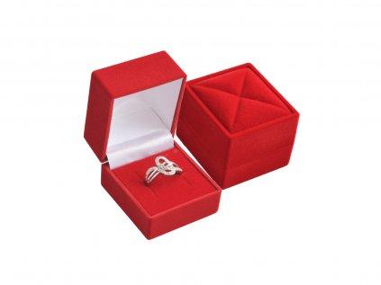 zamat prsteň cervená