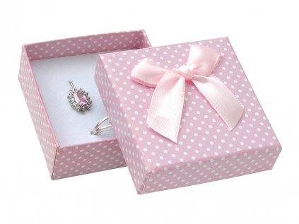 Krabička papierová- ružová