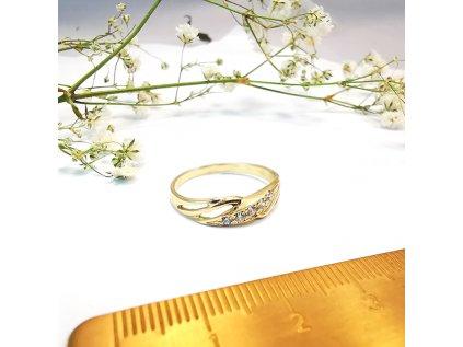 Prsteň VZOR 115 zo žltého zlata