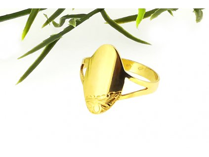 Prsteň VZOR 30 zo žltého zlata