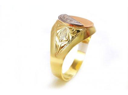 Elegantný pánsky prsteň  +doživotný servis a krabička a darček