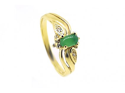 Prsteň VZOR 302 zo žltého zlata