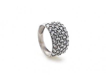 Zlatý prsteň VZOR 37 z bieleho zlata