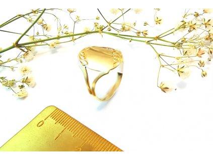 Prsteň VZOR 39 zo žltého zlata
