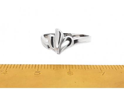 Krásny prsteň VZOR 71 z bieleho zlata