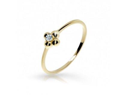 Prsteň Danfil 2932 žlté zlato