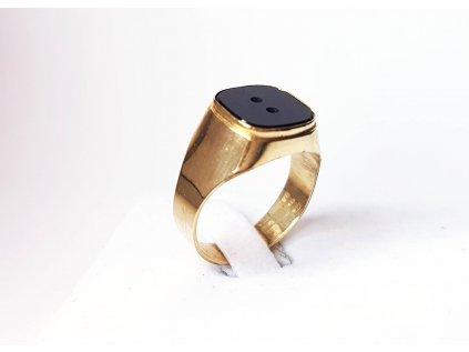 Zlatý prsteň ÓNIX žltý  +doživotný servis + krabička, darček