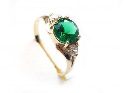Dámsky prsteň P16 zo žltého zlata