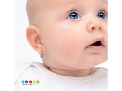 Detské náušničky Cutie 2152 ukážka