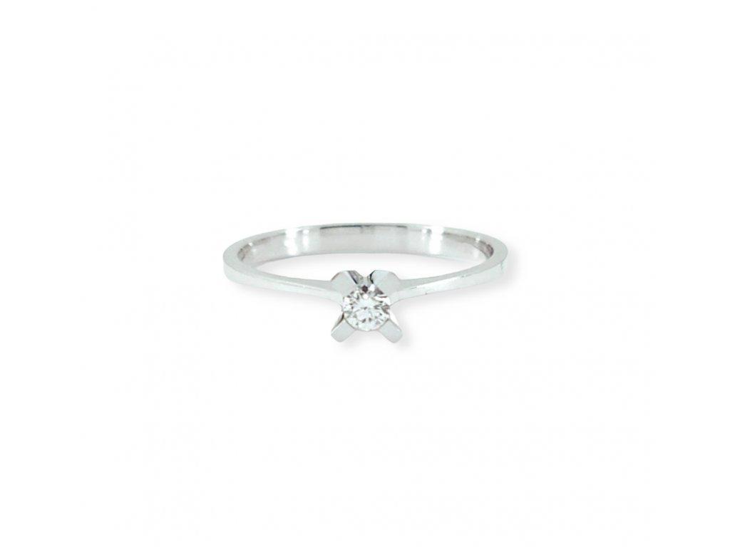 Briliantový prsteň Adara