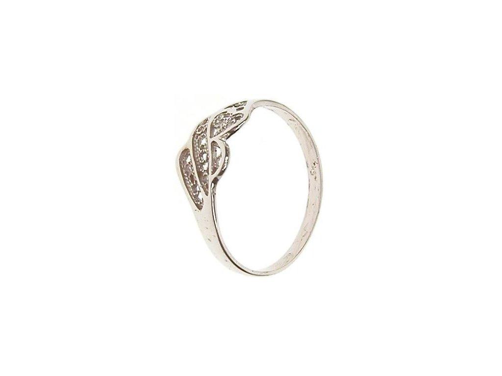Prsten z bílého zlata 13/43286
