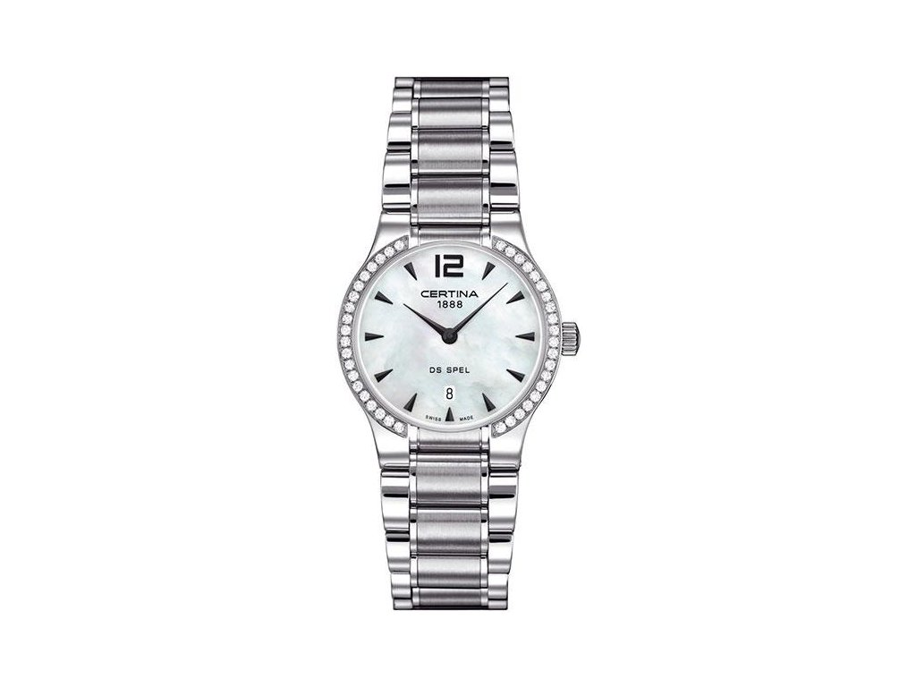 CERTINA C012.209.61.117.00 DS Spel Lady Round Diamonds