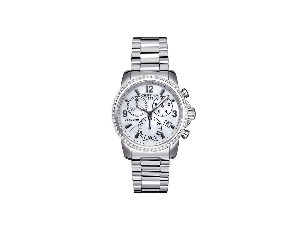 CERTINA C001.217.11.117.10 DS Podium Lady Chrono Diamonds