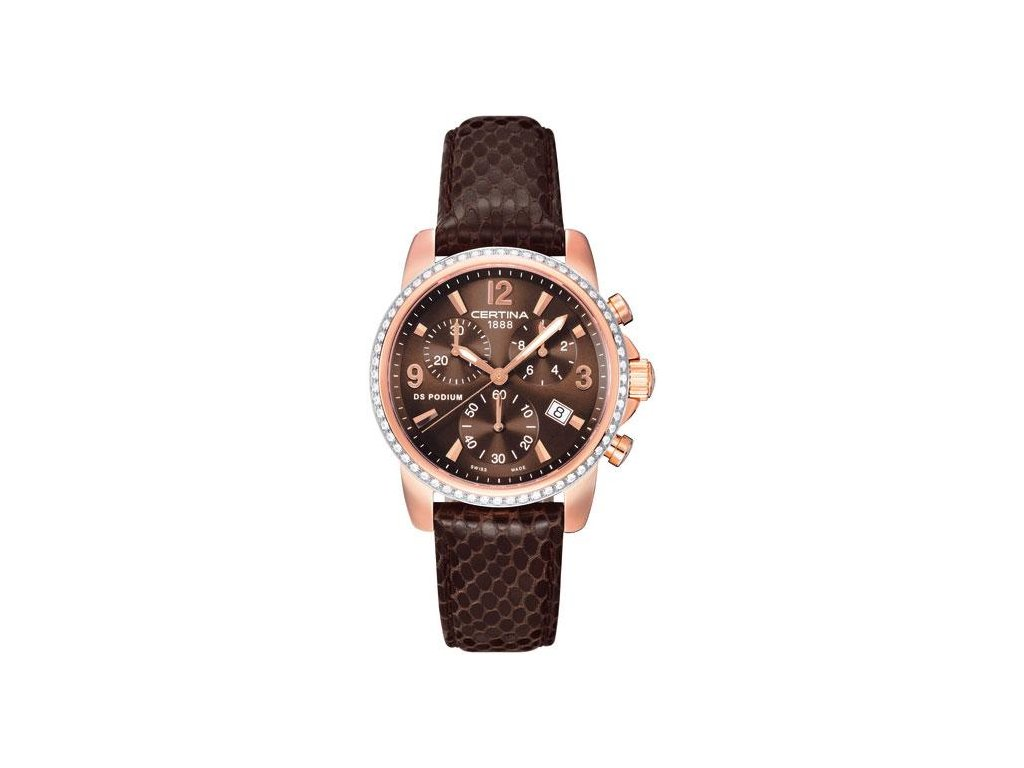 CERTINA C001.217.36.297.10 DS Podium Lady Chrono Diamonds