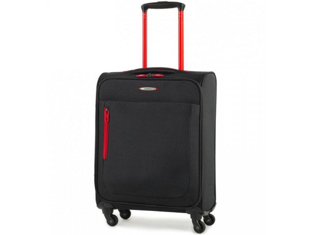Kabinové zavazadlo MEMBER'S TR-0137/3-S - černá