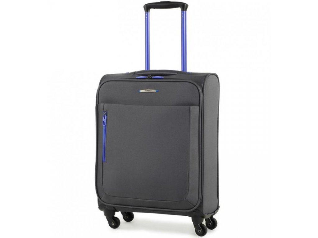 Kabinové zavazadlo MEMBER'S TR-0137/3-S - šedá