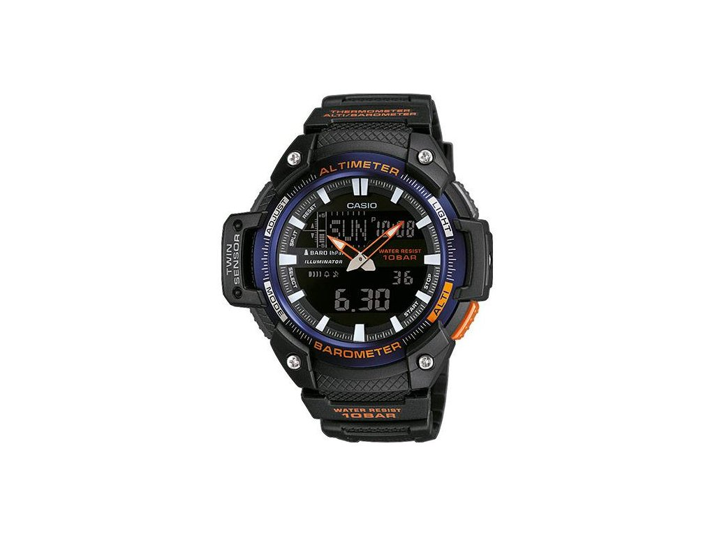 CASIO SGW-450H-2B Collection Twin Sensor