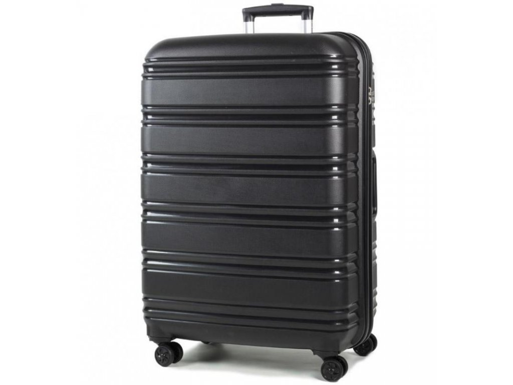 Cestovní kufr ROCK TR-0164/3-L PP - černá