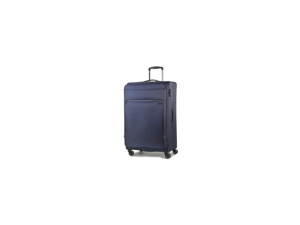 Cestovní kufr ROCK TR-0161/3-M - tmavě modrá