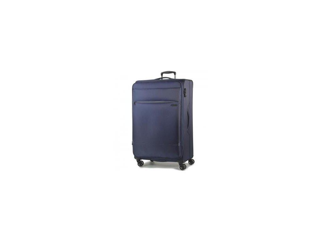 Cestovní kufr ROCK TR-0161/3-L - tmavě modrá