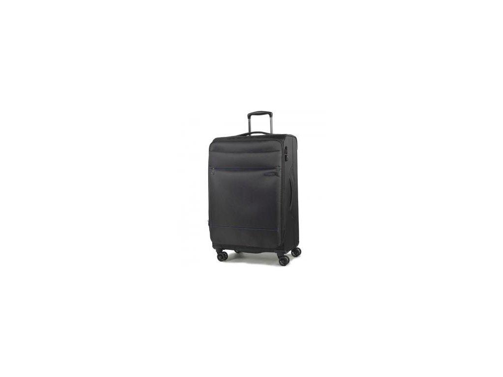 Cestovní kufr ROCK TR-0161/3-M - černá