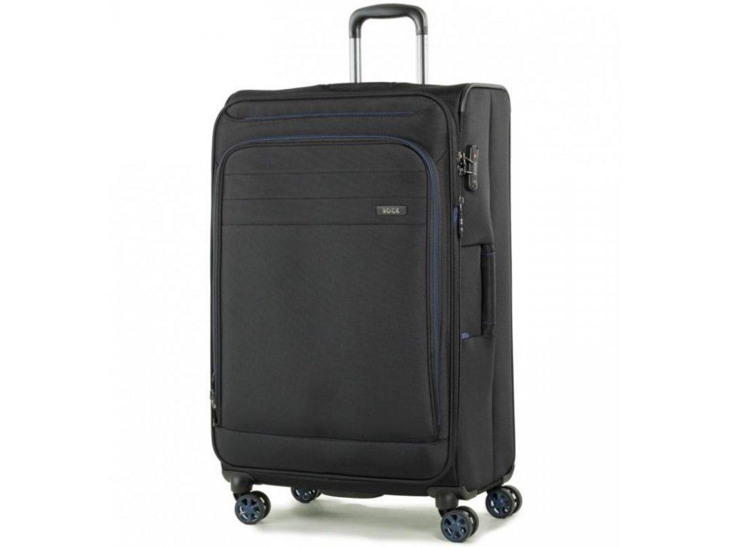 Cestovní kufr ROCK TR-0162/3-L - černá