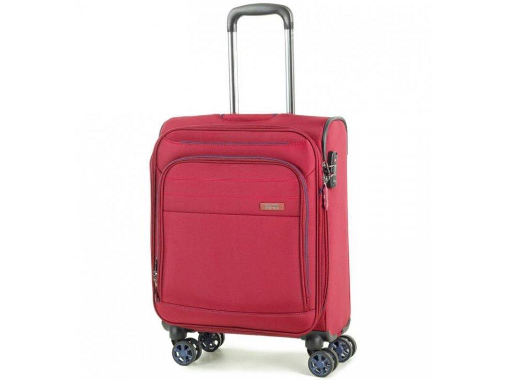 Kabinové zavazadlo ROCK TR-0162/3-S - červená