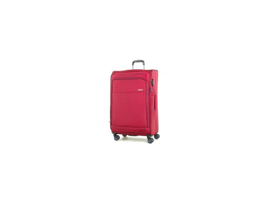Cestovní kufr ROCK TR-0162/3-L - červená