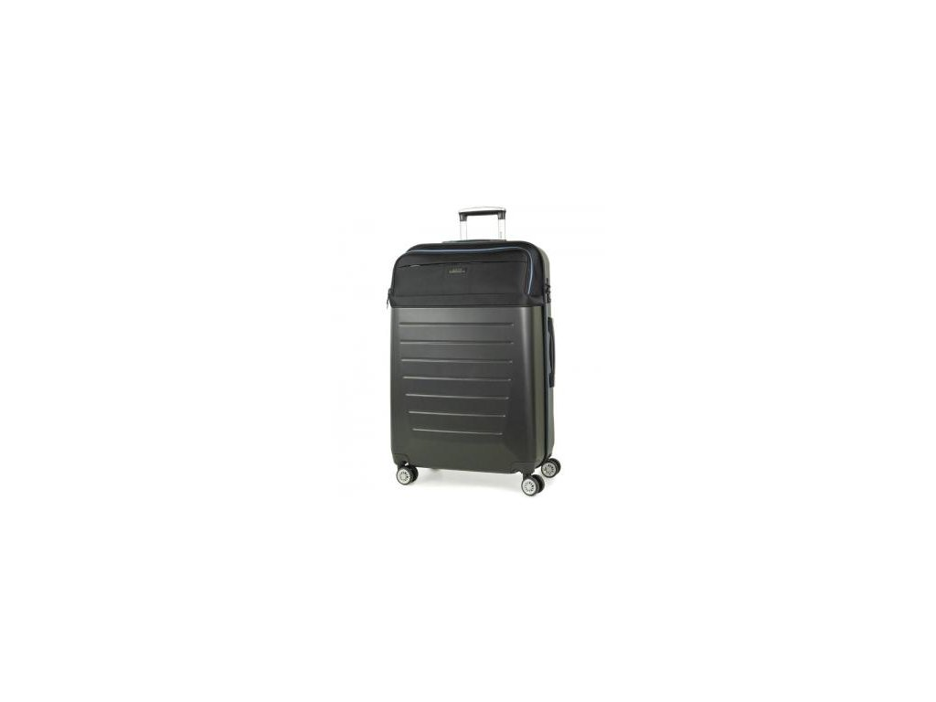 Cestovní kufr ROCK TR-0166/3-L ABS/PES - černá