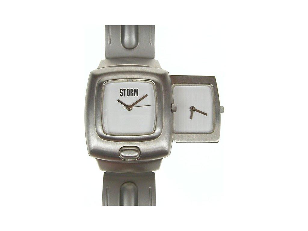 STORM - DUONETIC v bílé barvě ciferníku