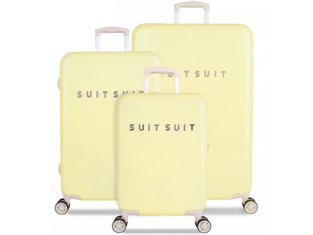Sada cestovních kufrů SUITSUIT® TR-1220/3 - Fabulous Fifties Mango Cream