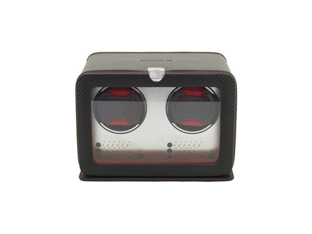 Natahovač na hodinky 29461-2 Carbon
